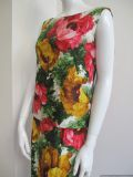 1960's Vibrant splashy floral vintage dress Joseph Magnin **SOLD**
